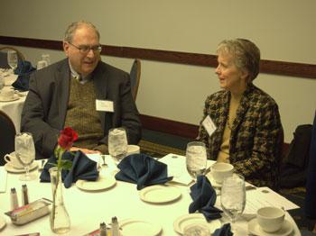 Bob Levine and Gloria Bazzoli