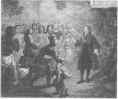 Zinzendorf Preaching to People from Many Nations.
