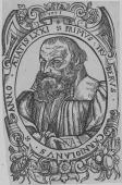 Primus Truber, woodcut by Jacob Lederlein, 1578
