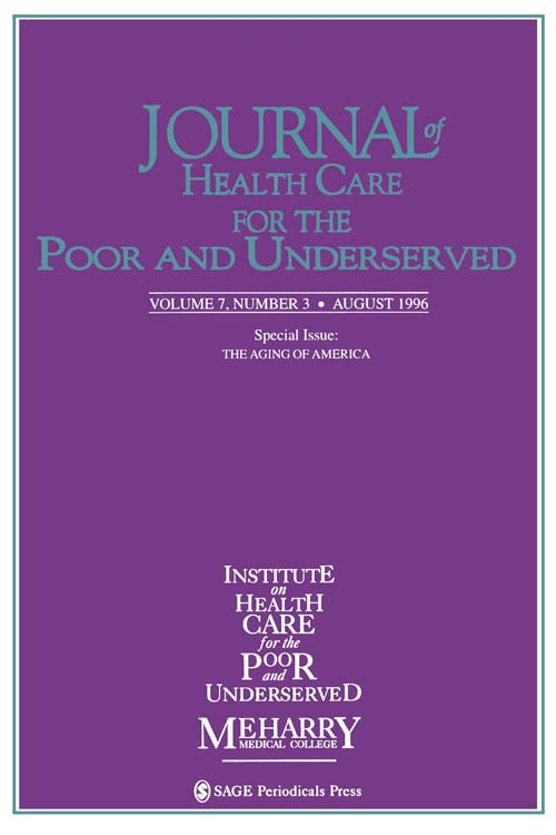Journal of Health Care for the Poor and Underserved, 1996